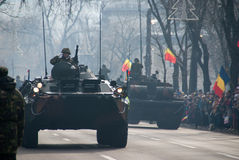 Carri armati rumeni Fotografie Stock