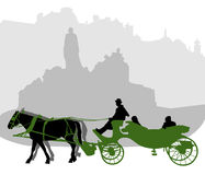 Carriage-3 Royalty Free Stock Photography