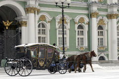 The carriage Royalty Free Stock Image