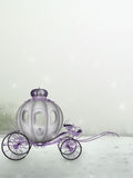 Carriage Background. Light fantasy background for any digital artist Royalty Free Stock Images