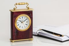 Carriage Clock, Timepiece, Time Stock Photography