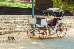 Carriage or horse wagon without the horse Royalty Free Stock Photo