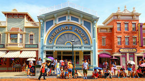 Carriage house of disneyland, hong kong Royalty Free Stock Images