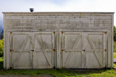 Carriage House doors Stock Photography