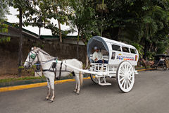 Carriage in Intramuros Stock Image