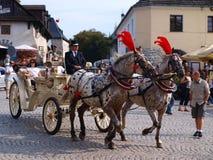 Carriage, Kazimierz Dolny, Poland Royalty Free Stock Photography