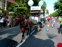 Carriage parade Royalty Free Stock Images