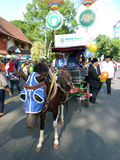 Carriage parade Royalty Free Stock Photography