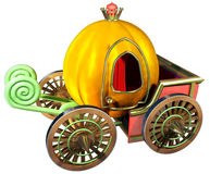 Carriage of pumpkin Stock Image