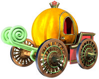 Carriage of pumpkin Royalty Free Stock Photography