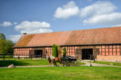 Carriage ride in Masuria Royalty Free Stock Images