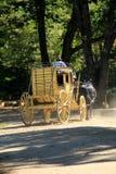 Carriage rides around the property for visitors,Old Sturbridge Village,Sturbridge,Mass,September,2014 Stock Photography