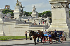 Carriage at Rome Royalty Free Stock Photo