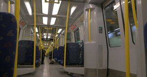 Carriage of Stockholm Subway stock footage