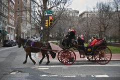 Carriage Tour Philadelphia Royalty Free Stock Image