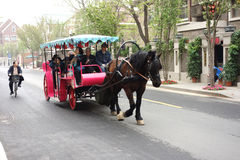 Carriage tour Royalty Free Stock Photography