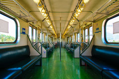 Carriage of Train in Taiwan. View of Carriage of Train Royalty Free Stock Image