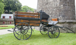 Carriage in Vannes Royalty Free Stock Photography
