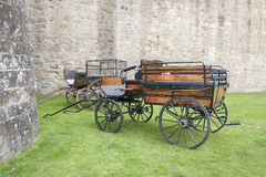 Carriage in Vannes Royalty Free Stock Image
