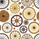 Carriage vector vintage transport old wheels and antique transportation illustration set of royal coach and chariot or. Wagon for traveling seamless pattern vector illustration