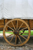 Carriage and wheel. Old carriage and wheel Stock Image