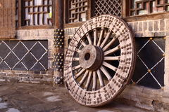 Carriage wheel Royalty Free Stock Images