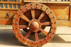 Carriage wheel Royalty Free Stock Photos