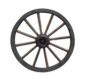 Carriage Wheel Stock Photography