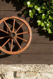 Carriage wheel Stock Image