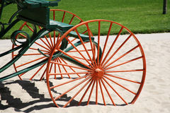 Carriage wheels Royalty Free Stock Photo