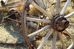Carriage wheels Stock Photos