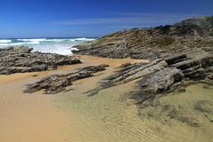 Carriagem beach Stock Image
