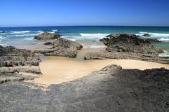 Carriagem beach seascape Stock Photo
