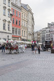 Carriages in krakow Royalty Free Stock Photos