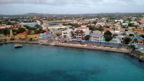 Carribean bayview. Carribean city view from the bay Stock Photography