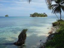 Carribean beach stock image