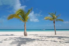 Carribean beach Stock Photo