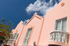 Carribean. Cute house in the carribbean Stock Image