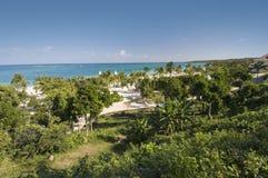 Carribean Dreams. Carribean coastline at Gualdalavaca beach - Best of Cuba Royalty Free Stock Images