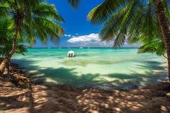 Carribean sea, beautiful panoramic view Stock Images