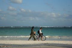 Carribean sea. City Cancun, Mexico Stock Photo