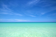 Carribean sea landscape Stock Images