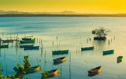 Carribean sunset Stock Photo