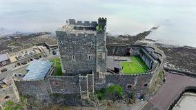 Carricfergus kasztel Antrim Irlandia zdjęcia royalty free