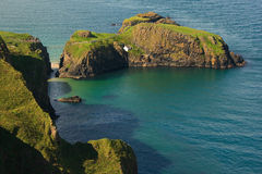 carrick-a-Rede Arkany Most Obraz Stock