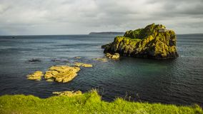 Carrick a Rede. Rope Bridge Northern Ireland , Great Britain stock image