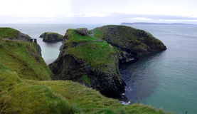 Carrick-a-Rede Island Royalty Free Stock Photography