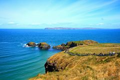 Carrick -A-Rede and Larrybane Stock Photography