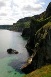 Carrick-a-Rede Rope Bridge Royalty Free Stock Photo