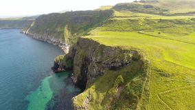 Dunseverick Castle Atlantic Ocean Antrim, Northern Ireland. Dunseverick Castle Atlantic Ocean County Antrim, Northern Ireland stock photography